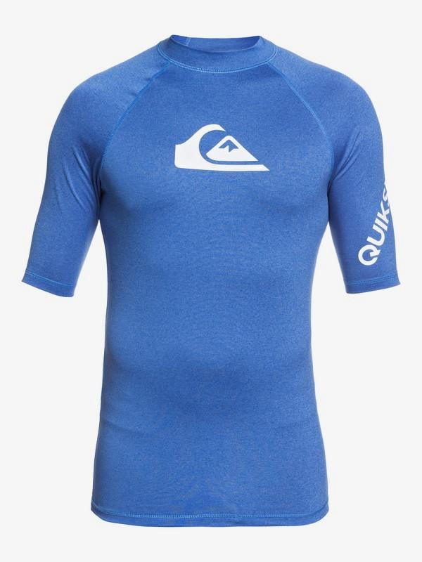 All Time - Short Sleeve UPF 50 Rash Vest for Men  EQYWR03256