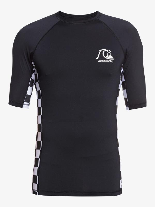 Check This - Short Sleeve UPF 50 Rash Vest for Men  EQYWR03286