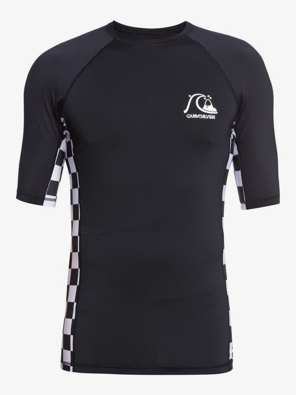 Check This - Short Sleeve UPF 50 Rash Vest for Men  EQYWR03287
