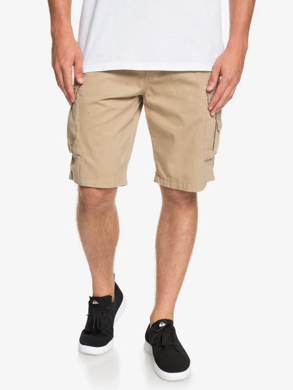 0 Crucial Battle - Cargo Shorts for Men Brown EQYWS03456 Quiksilver