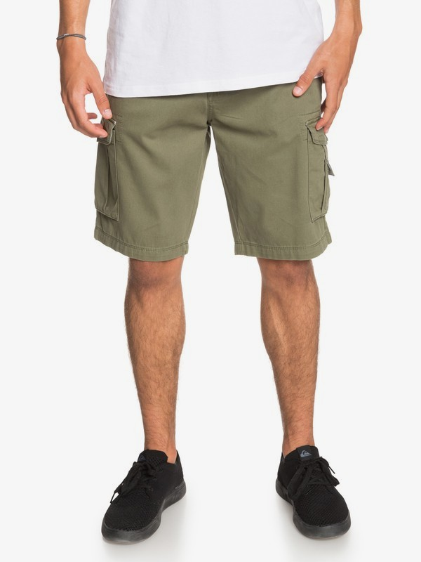 0 Crucial Battle - Cargo Shorts for Men Green EQYWS03456 Quiksilver