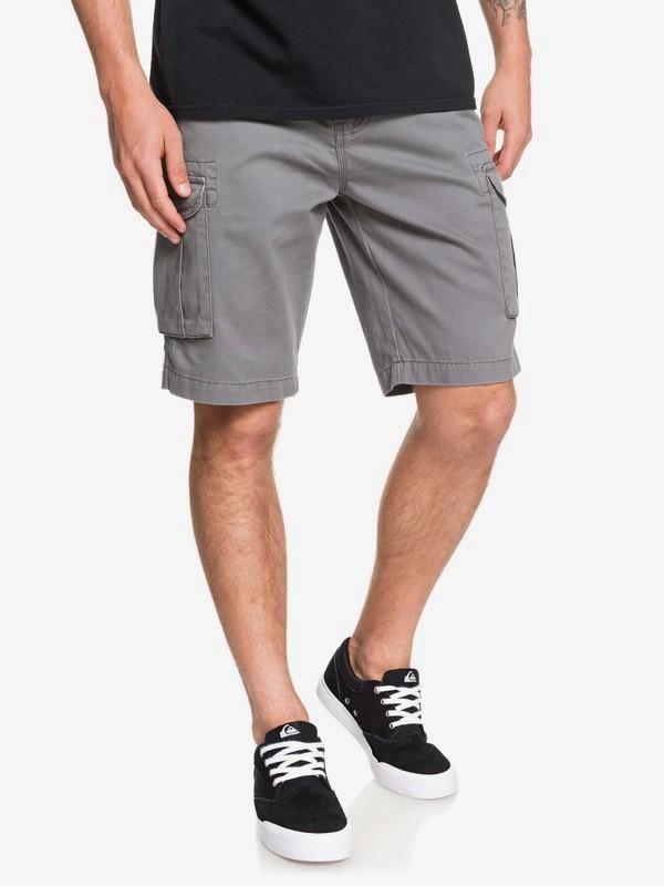 0 Crucial Battle - Cargo Shorts for Men Black EQYWS03456 Quiksilver