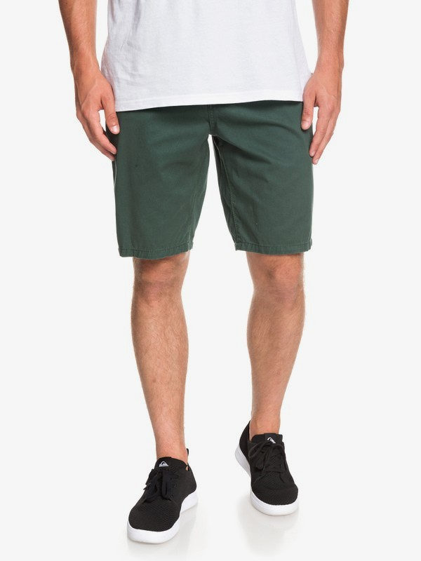 0 Everyday - Chino Shorts for Men Green EQYWS03468 Quiksilver