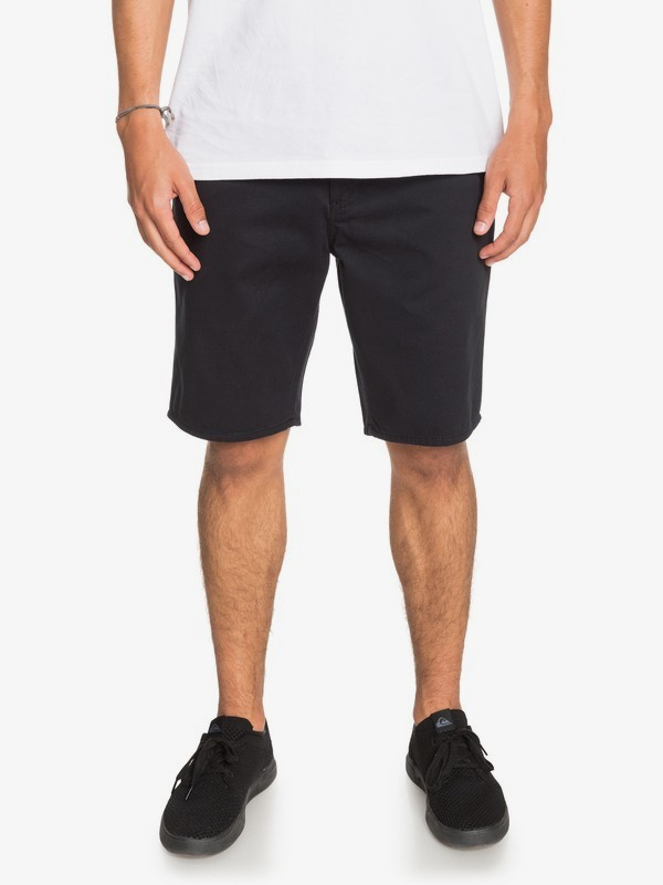 0 Everyday - Short Chino para Hombre Negro EQYWS03468 Quiksilver