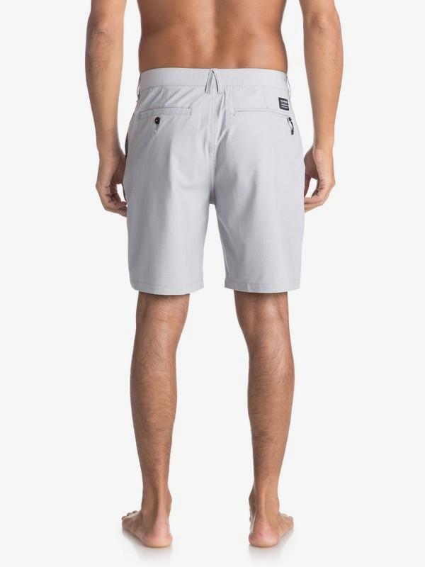 "Union Pinstripe 19"" - Amphibian Board Shorts for Men EQYWS03490"