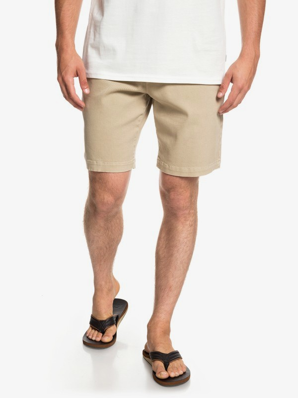 """0 Twist Of Shadows 19"""" - Shorts for Men Brown EQYWS03567 Quiksilver"""