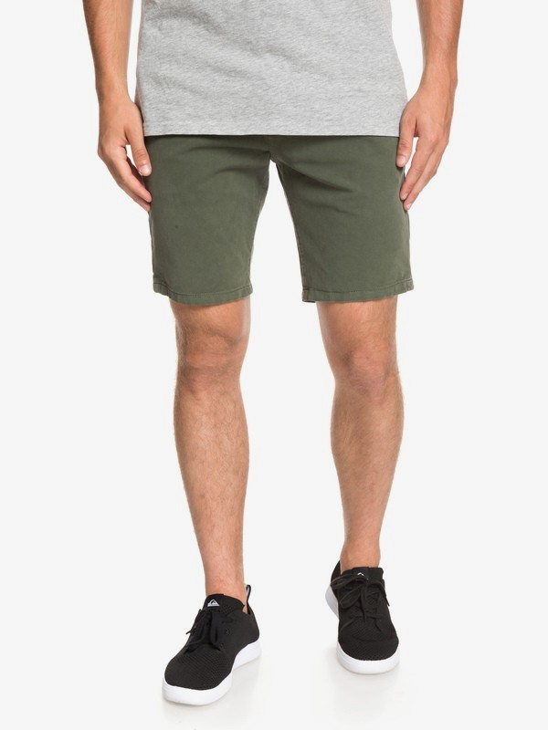 0 Krandy - Chino Shorts for Men Brown EQYWS03570 Quiksilver