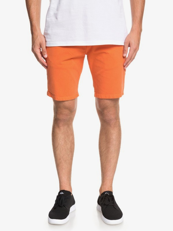 0 Krandy - Chino Shorts for Men Orange EQYWS03570 Quiksilver