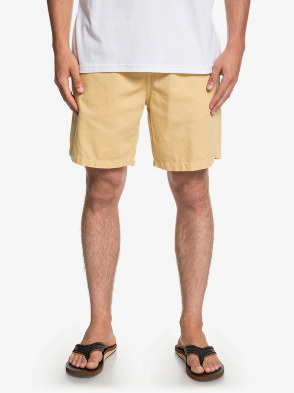 "0 Brainwashed 18"" - Beachshorts for Men Yellow EQYWS03574 Quiksilver"