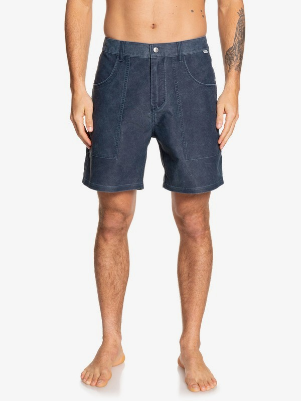 "Cord Surfwash 18"" - Amphibian Board Shorts for Men  EQYWS03587"