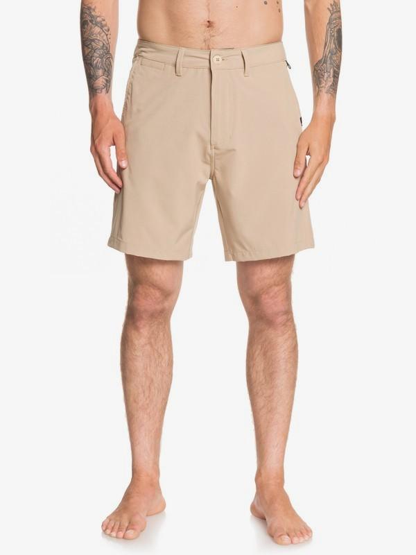 "0 Union Amphibian 19"" - Amphibian Board Shorts for Men Brown EQYWS03591 Quiksilver"