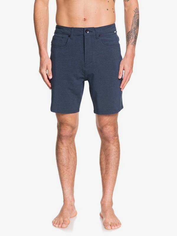 "0 Nelson 18"" - Amphibian Board Shorts for Men Blue EQYWS03621 Quiksilver"