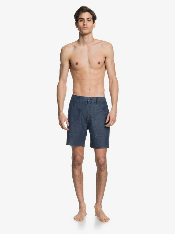 "Surfwash 18"" - Amphibian Board Shorts for Men EQYWS03623"
