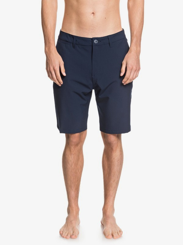 "0 Union 20"" - Amphibian Board Shorts for Men Blue EQYWS03625 Quiksilver"