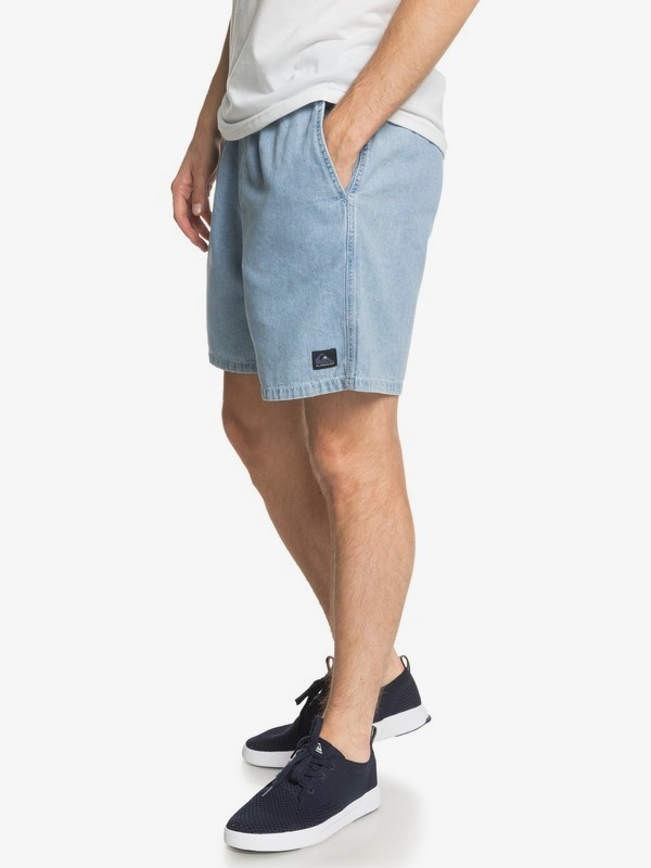 "Heritage 18"" - Elasticated Shorts for Men  EQYWS03644"