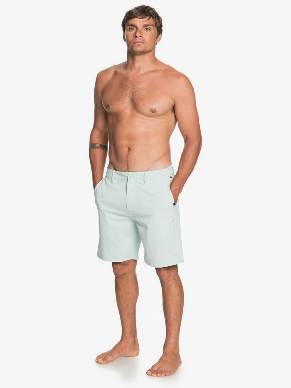 "Union Oxford 20"" - Amphibian Board Shorts for Men  EQYWS03660"