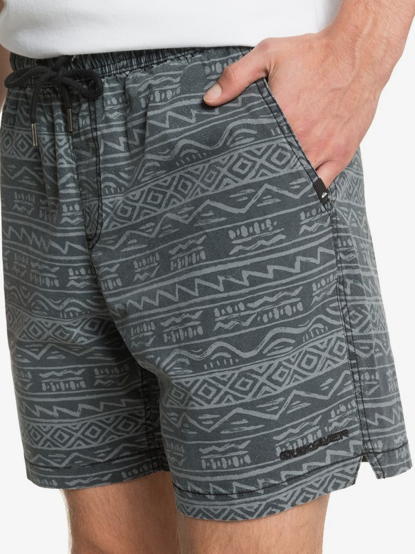 "Taxer 17"" - Elasticated Shorts for Men  EQYWS03669"