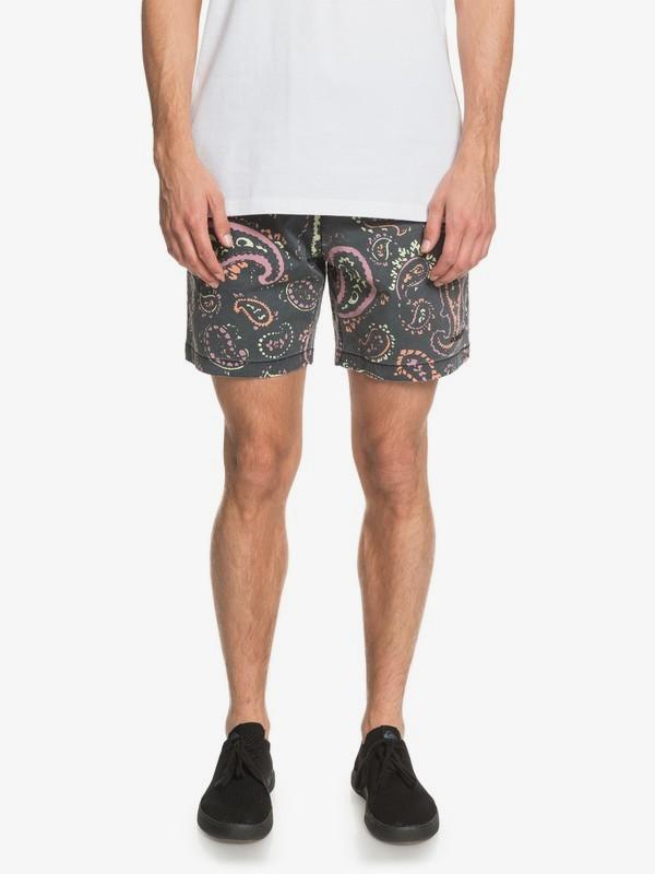"""Taxer 17"""" - Elasticated Shorts for Men  EQYWS03669"""