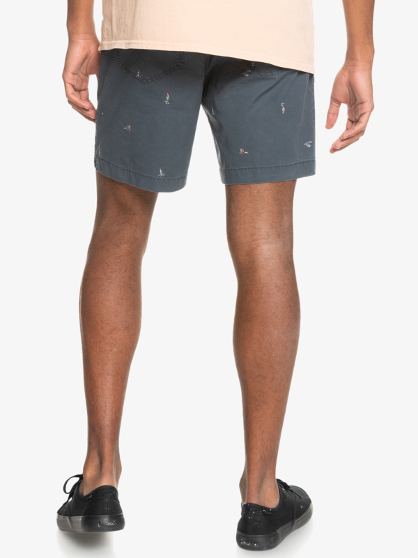 """Taxer 17"""" - Elasticated Shorts for Men  EQYWS03714"""