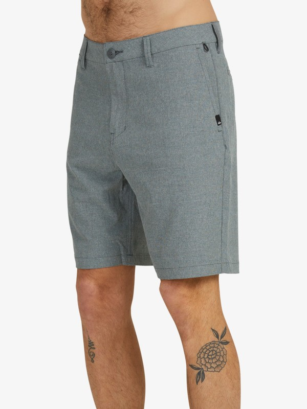 "Union Cloud 19"" - Amphibian Board Shorts for Men  EQYWS03726"