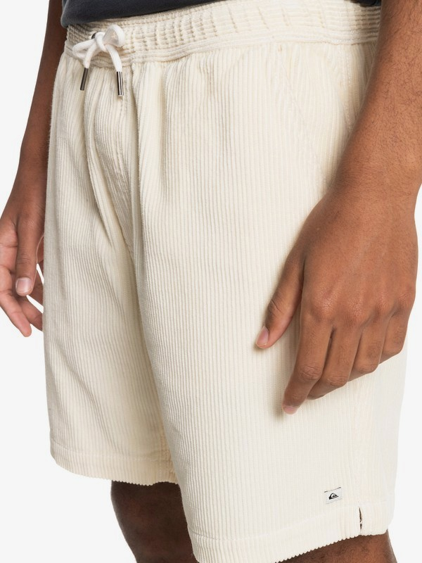 "Taxer 17"" - Elasticated Shorts for Men  EQYWS03740"