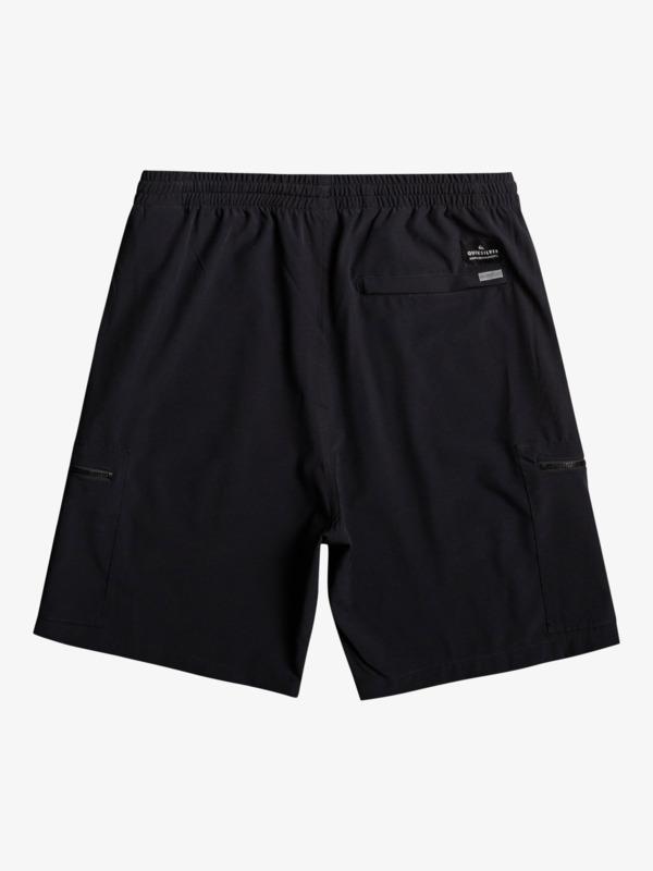 "Elastic Cargo 19"" - Recycled Amphibian Board Shorts for Men  EQYWS03757"
