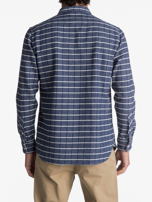 Crossed Tide Flannel - Long Sleeve Shirt for Men EQYWT03529