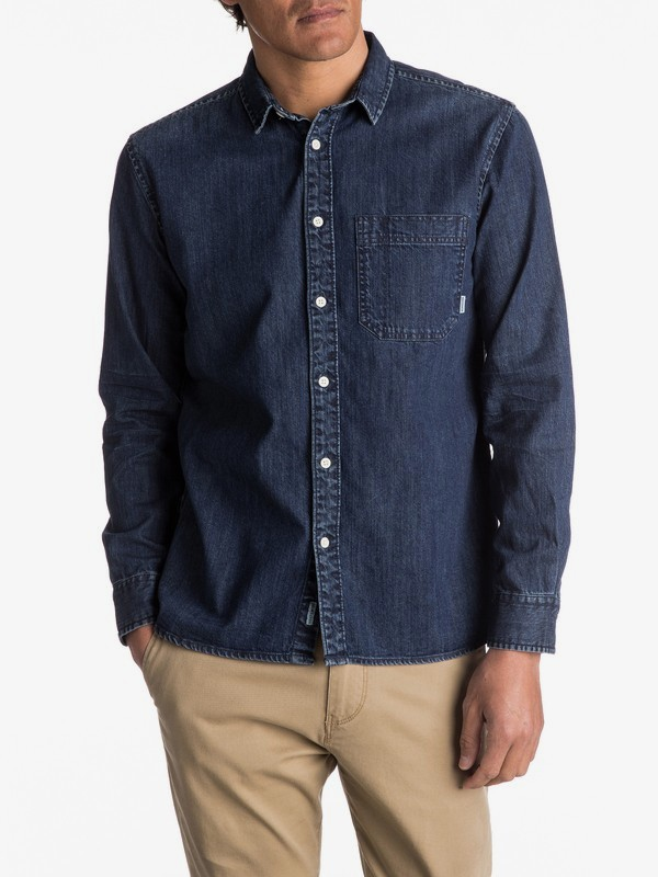 Denim Sula - Long Sleeve Shirt for Men EQYWT03553