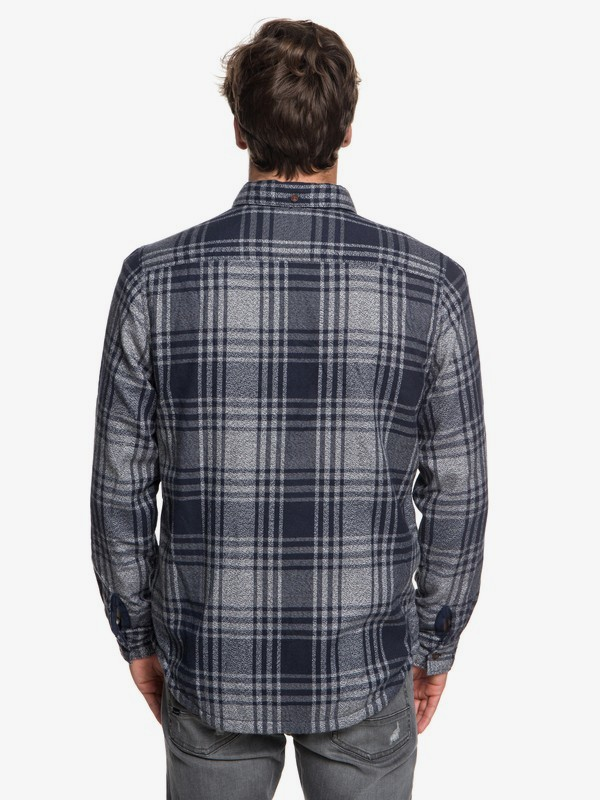 The Waffle - Long Sleeve Over Shirt for Men  EQYWT03694