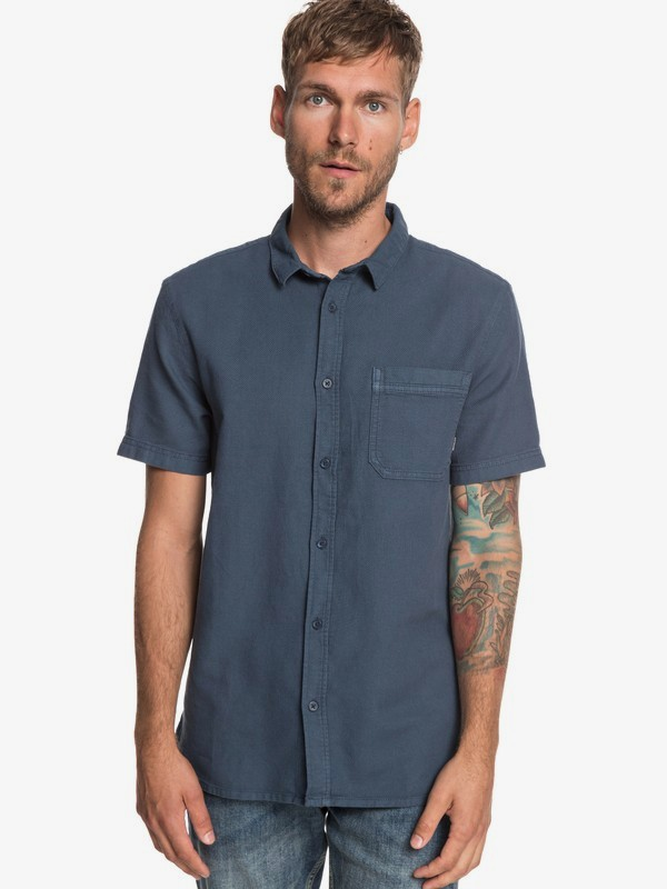 Time Box - Short Sleeve Shirt for Men  EQYWT03789