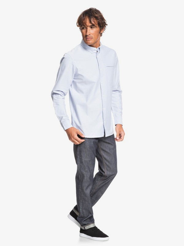 Ostalamer Oxford - Long Sleeve Shirt for Men  EQYWT03819