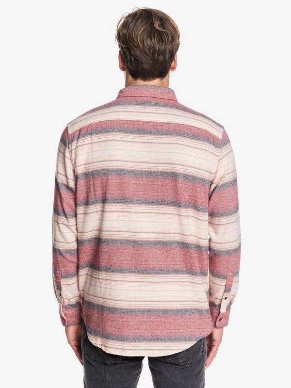 Inca Gold Stripe - Long Sleeve Shirt for Men EQYWT03846