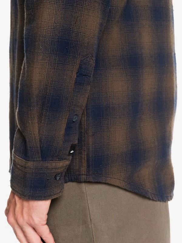 Inca Gold Check - Long Sleeve Shirt for Men  EQYWT03847