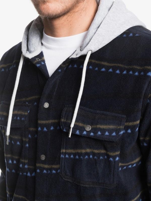Surf Days - Hooded Long Sleeve Polar Fleece Shirt for Men  EQYWT03850