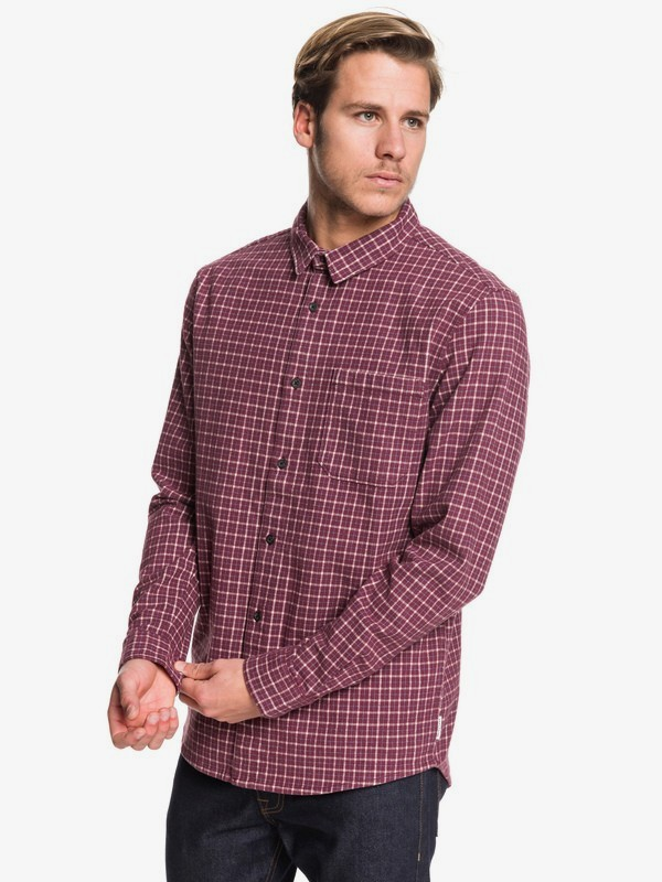 0 Marra Mundi - Camisa de Manga Larga para Hombre Rojo EQYWT03865 Quiksilver