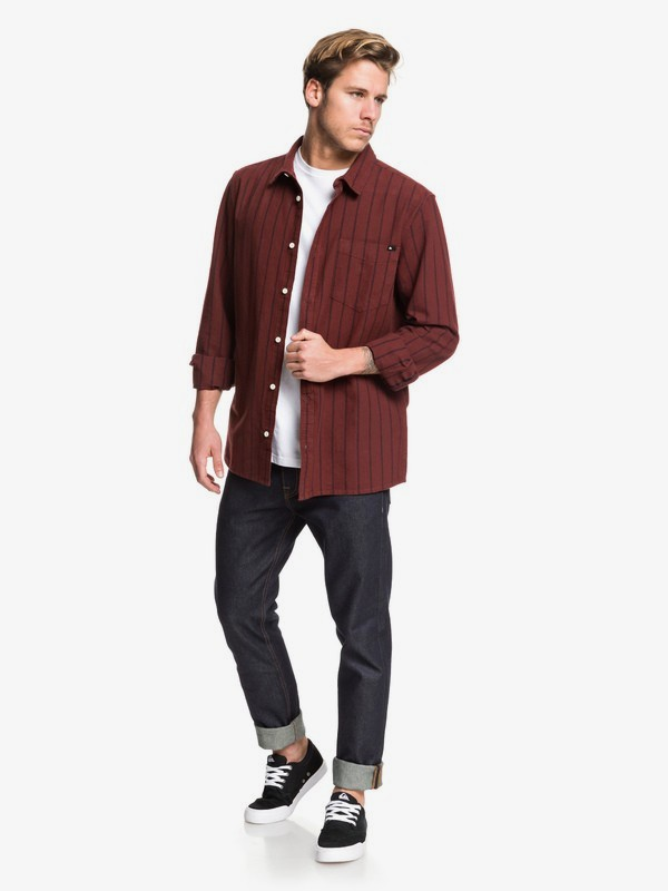 Graceful Wave - Long Sleeve Shirt for Men  EQYWT03869