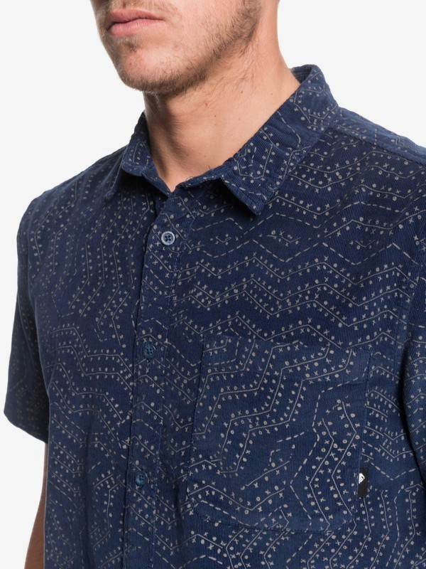 Botanic Bats - Short Sleeve Shirt for Men  EQYWT03870