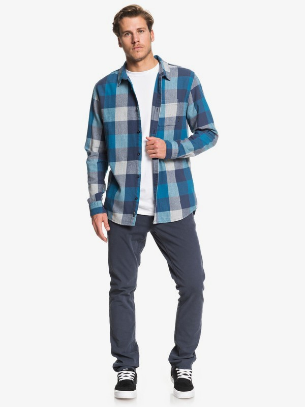 Motherfly Flannel - Long Sleeve Shirt for Men  EQYWT03918