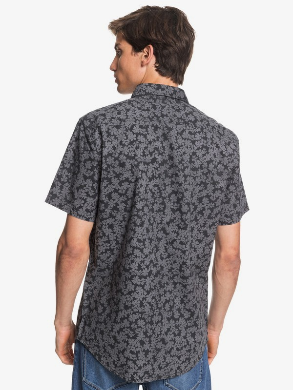 Dots Flower - Short Sleeve Shirt  EQYWT03953