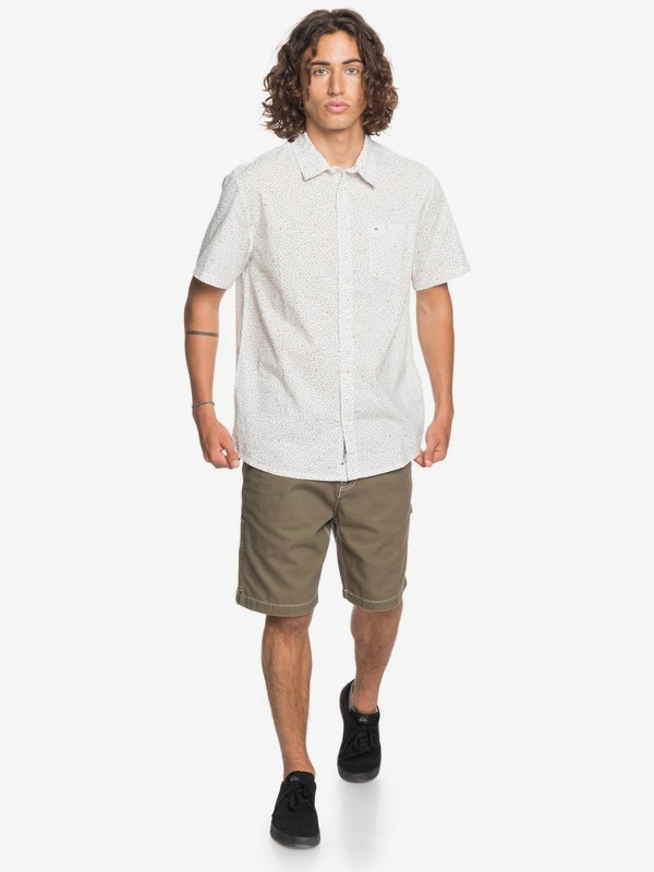 Spilled Rice - Short Sleeve Shirt for Men  EQYWT04014