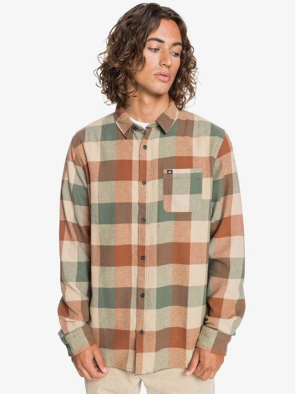Motherfly Flannel - Long Sleeve Shirt for Men  EQYWT04015