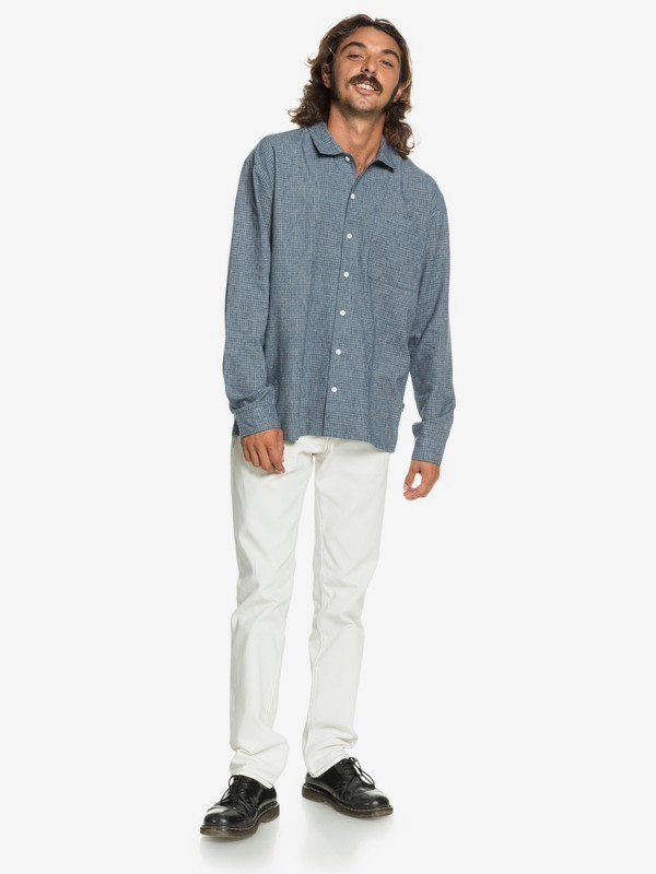 Originals High - Long Sleeve Camp Shirt for Men  EQYWT04045