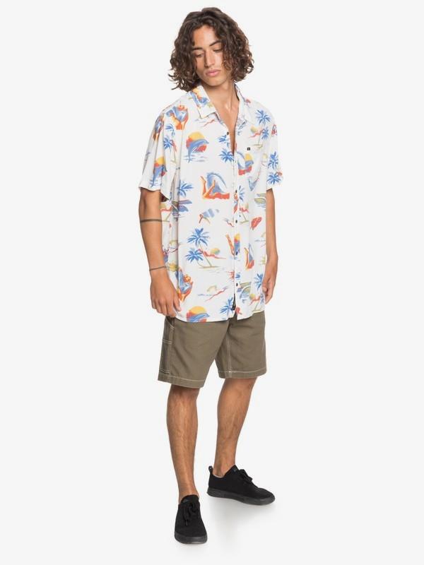 Sun Damage - Short Sleeve Shirt for Men  EQYWT04053
