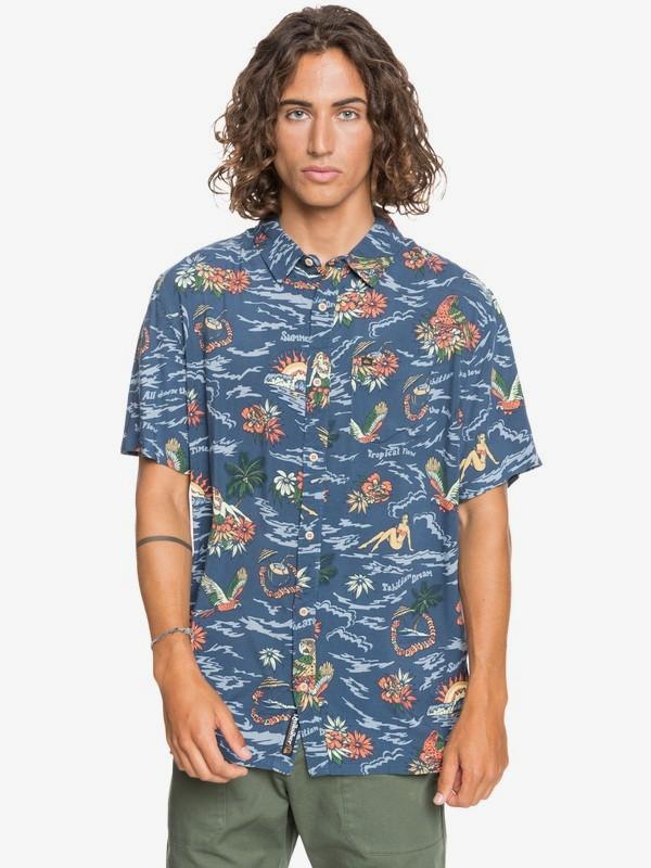 Dreamy Island - Short Sleeve Shirt for Men  EQYWT04075