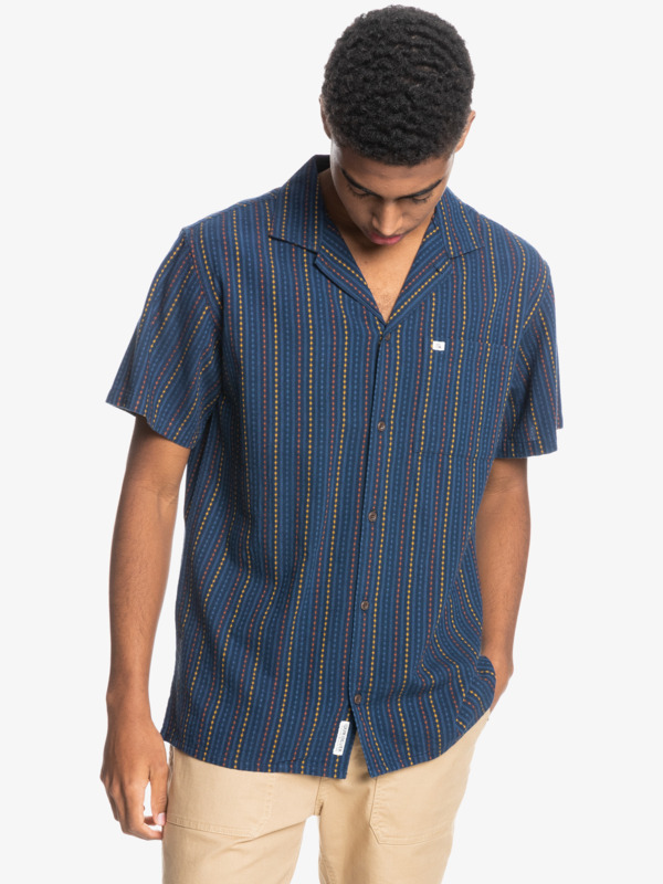 Caravan Stripe - Short Sleeve Shirt for Men  EQYWT04204