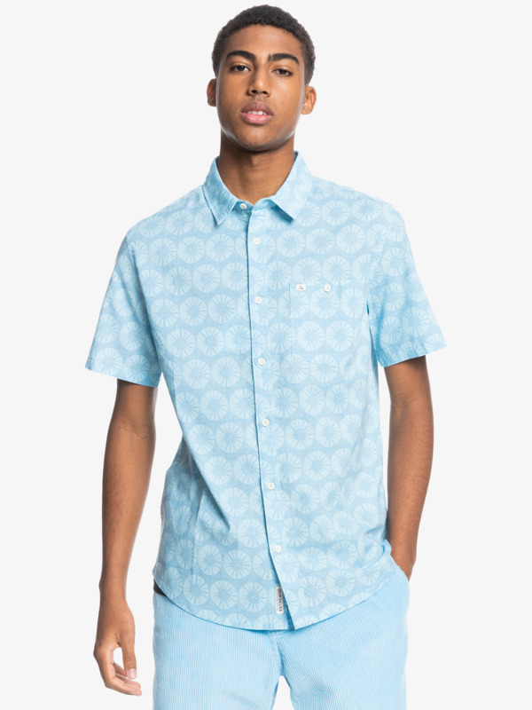 Sun Medallion - Short Sleeve Shirt for Men  EQYWT04208