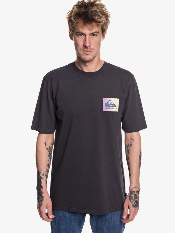 0 Original Classic Patch - Camiseta para Hombre Negro EQYZT04983 Quiksilver