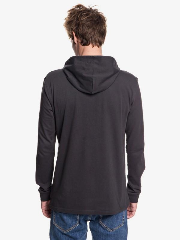 Originals Quik Check - Long Sleeve Hooded T-Shirt for Men  EQYZT04990