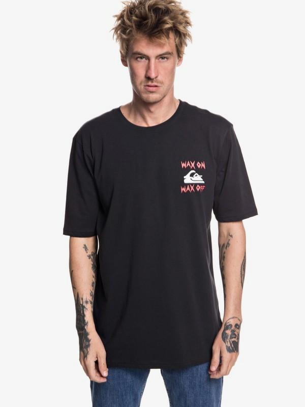 0 Wax Job - Maglietta da Uomo Black EQYZT04995 Quiksilver