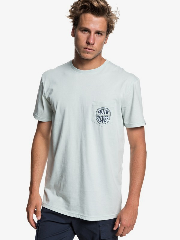 0 Quik Paradise - Pocket T-Shirt for Men Blue EQYZT05206 Quiksilver